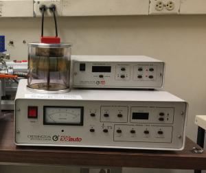 Cressington 108Auto Gold sputtering system